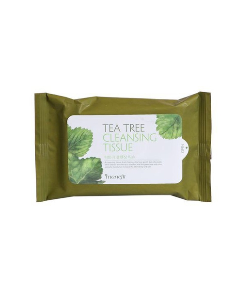 Khăn tẩy trang IM1NE Manefit Tea Tree Cleansing Tissue