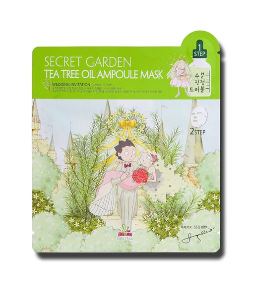 Mặt nạ IM1NE Sally's Box Secret Garden Tea Tree Oil Ampoule Mask