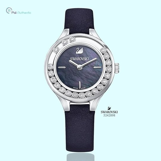 Swarovski Lovely Crystals Mini Black Ladies Watch