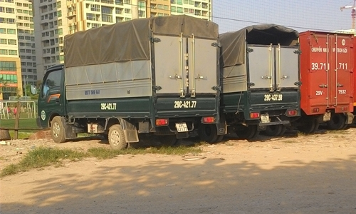 Bốc xếp, dỡ hàng Container