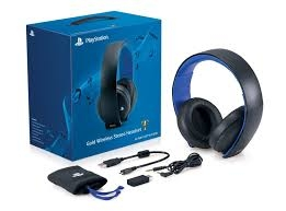 Tai nghe Sony Gold Wireless Stereo Headset 7.1 (PS4)