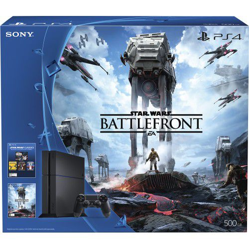 Sony PS4 500GB Code Star Wars Battlefront Bundle