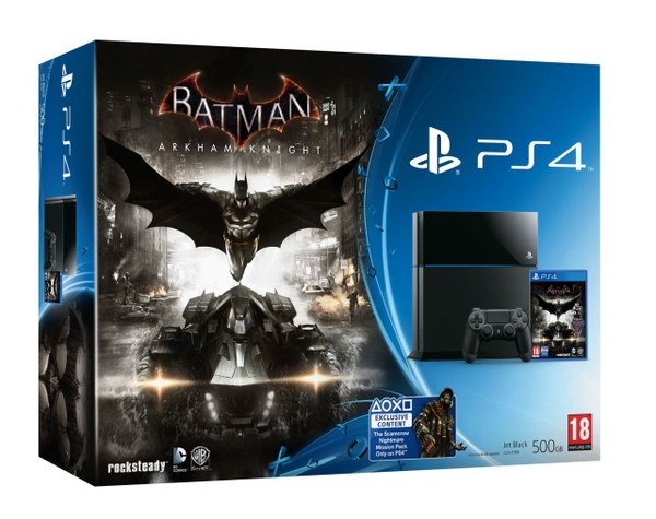 Sony PS4 500G US +  Batman Arkham Knight (Xuất Mỹ)