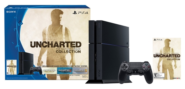 PS4 500GB Uncharted: The Nathan Drake Collection Bundle (Code Digital Download )