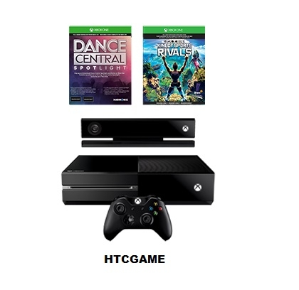 Máy XBOX ONE Kinect + Đĩa game Kinect Sports Rivals (tặng game down Dance Central)