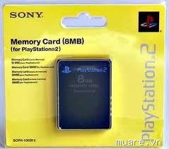 Card nhớ PS2 8M