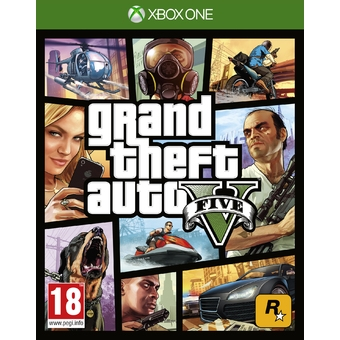 GTA Grand Theft Auto V - XB1