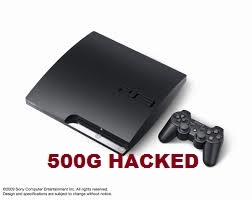 PS3 Slim 500G Hacked (2nd)