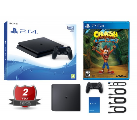 may-ps4-slim-2106a-500gb-chinh-hang-tang-dia-crash