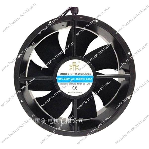 quạt tản nhiệt 220v 250mm