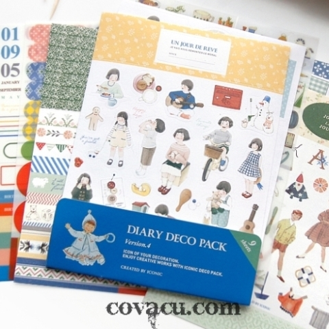 Sticker Diary Deco Pack