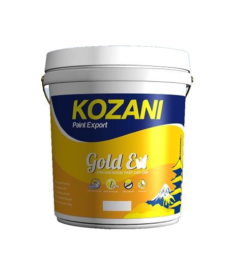 K8.8 KOZANI – SATIN.EXT: Sơn bóng ngoại thất cao cấp đặc biệt