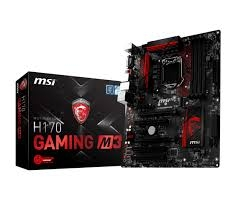 Mainboard MSI H170 GAMING M3
