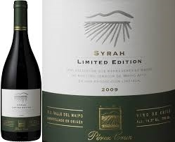 PEREZ CRUZ SYRAH LIMITED EDITION