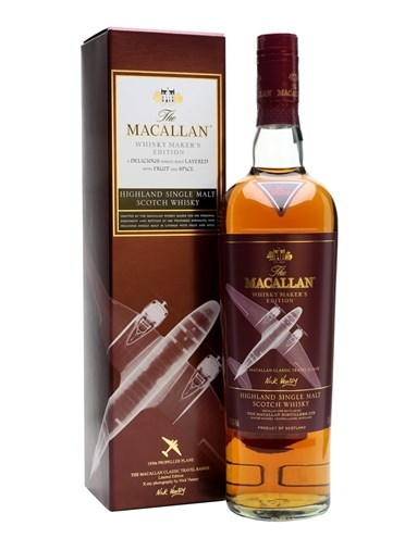 RƯỢU MACALLAN WHISKY MAKER'S EDITION 1930S PROPELLER PLANE (700ML / 42.8%)