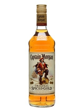RƯỢU CAPTAIN MORGAN SPICED GOLD 750ml / 37,5%