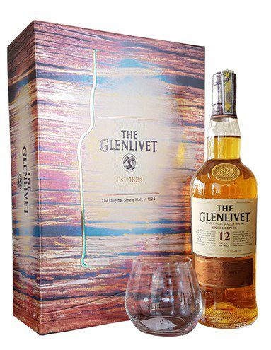 RƯỢU GLENLIVET 12 NĂM HỘP QUÀ 2017 (750ML / 40%) Speyside Single Malt Scotch Whisky