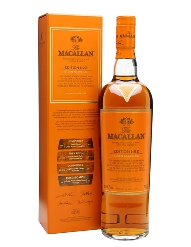 RƯỢU MACALLAN EDITION NO.2 (700ML / 48.2%)