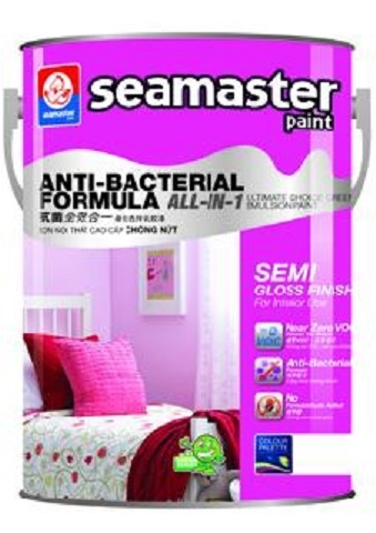 Sơn ANTI-BACTERIAL FORMULA 5-in-1- 8000
