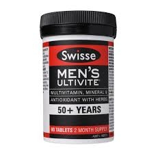 Swisse Men's Ultivite 50+ Years