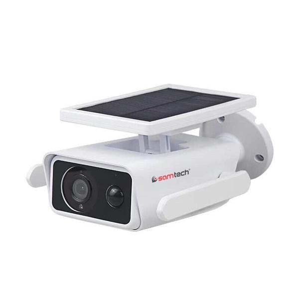 Camera giám sát Wifi dùng năng lượng mặt trời không dây Samtech STN-6120BS