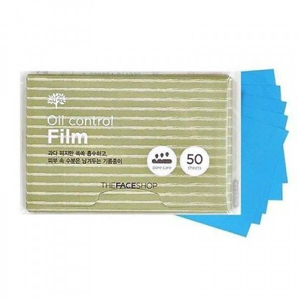 Giấy thấm dầu The face shop oil control film 50 tờ