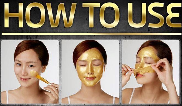 piolang 24k gold wrapping mask how to use