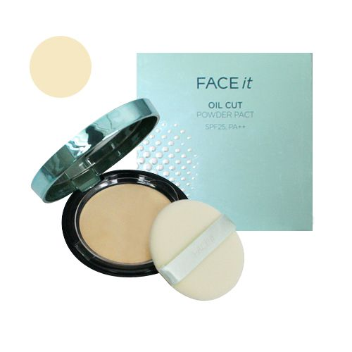 Phấn Phủ Nén Face It Oil Cut Powder Pact