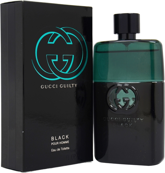Guilty Black pour Homme for men 90ml