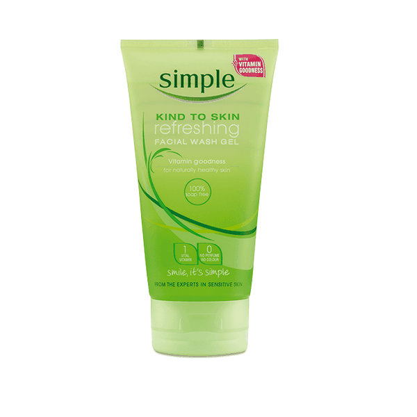 Sữa rửa mặt dạng gel Simple Kind To Skin Refreshing