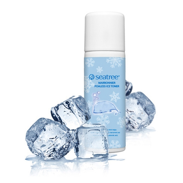 Xịt khoáng lạnh Seatree- Seatree Marronnier Poaless Ice Toner - 150ml