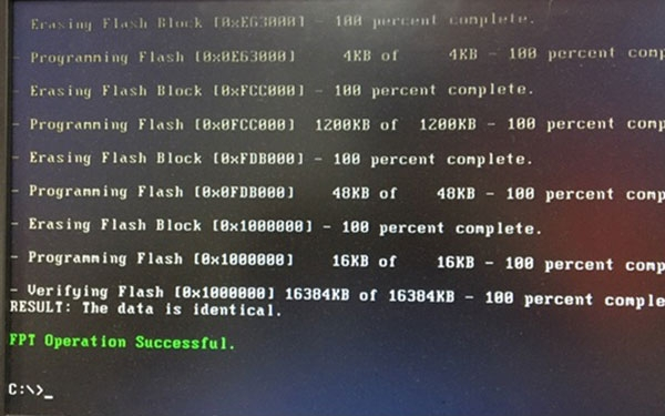 Hướng dẫn update Bios Kabylake cho mainboard Colorful bằng USB Boot Dos