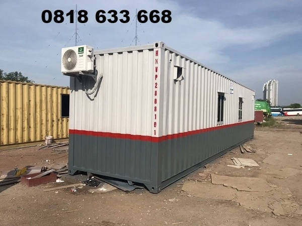 Container văn phòng toilet 40 feet