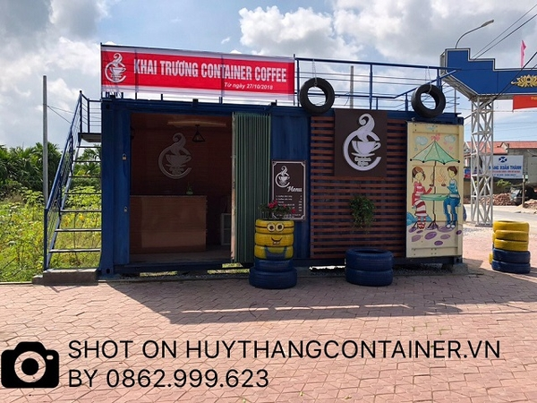 Container coffe