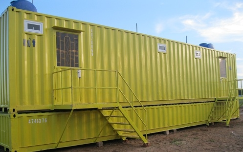 Container toilet 5