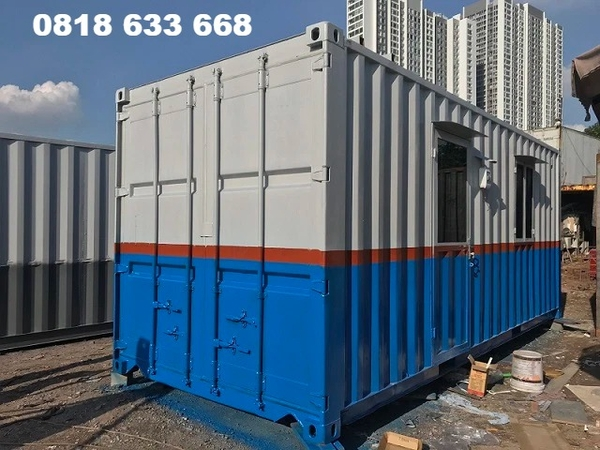 Container văn phòng toilet 20 feet