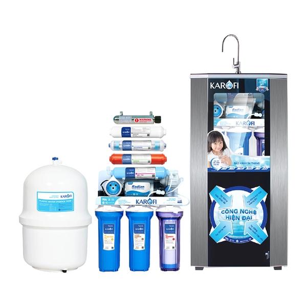 Kết quả hình ảnh cho máy lọc nước karofi sro 9 cap