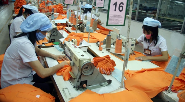 textile and garment export market gradually