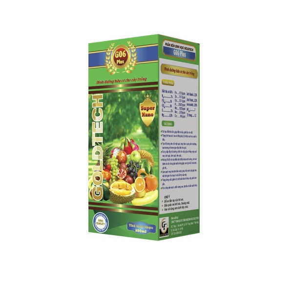 Bioorganic fertilizer G06 Plus