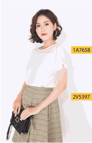 Áo kiểu M Collection A7658/1