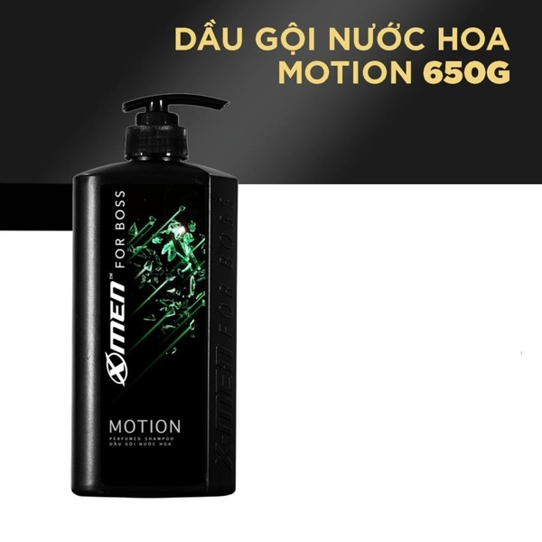 Image result for Dầu gội X-men for Boss Motion 650g