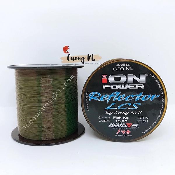 Cước Ion Power Reflector LCS 600m | Đồ câu Cường KL