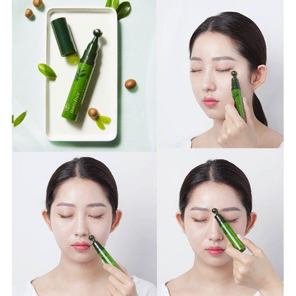 Thanh Lăn Dưỡng Mắt Innisfree The Green Tea Seed Eye & Face Ball