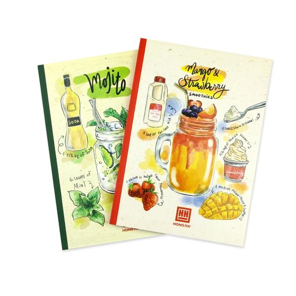 Vở 4 ly ngang 200 trang Cocktail 0756