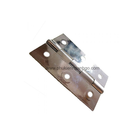 Shiny nickel hinge H0011N