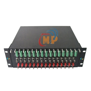 Rack Mount 19'' Chassis for Video Converter HHD-2U-G16