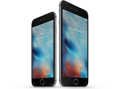 iphone 6s plus đài loan màu xám