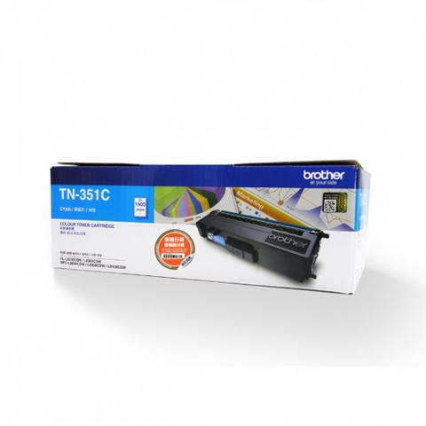 MỰC IN BROTHER TN-351 CYAN TONER CARTRIDGE (TN 351C)