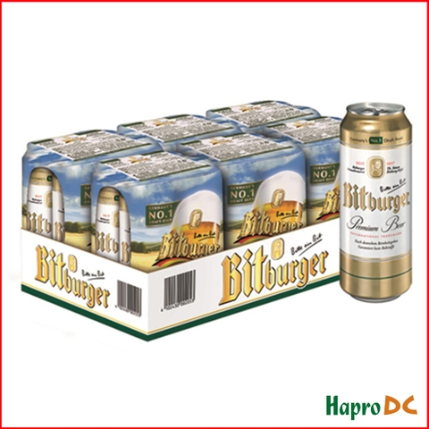 Bia lon Bitburger 500ml