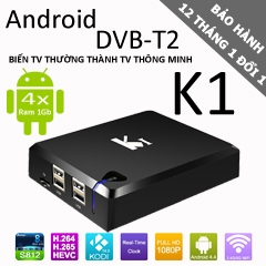 ANDROID BOX K1 DVB T2